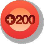 200 Followers Badge