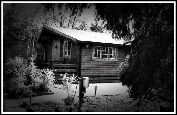 Acle log cabin