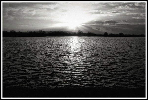 Ashridge Lake Sunset