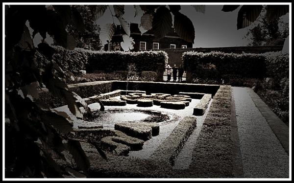 Hampton Court Palace Secret Garden