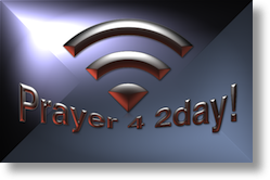 Prayer 4 2day wireless logo