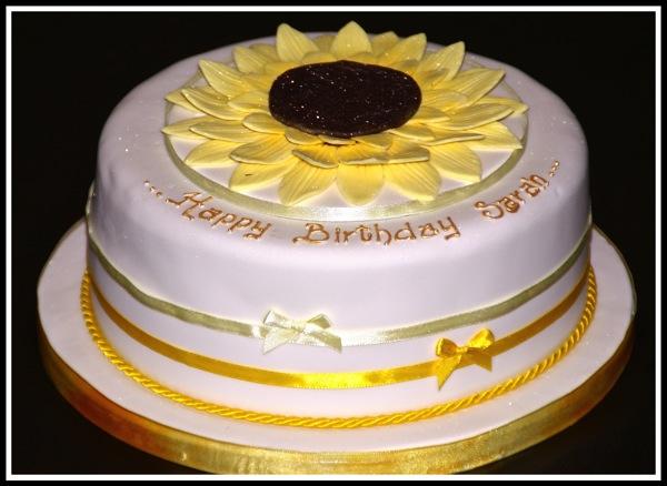 Sarahs Birthday Cake