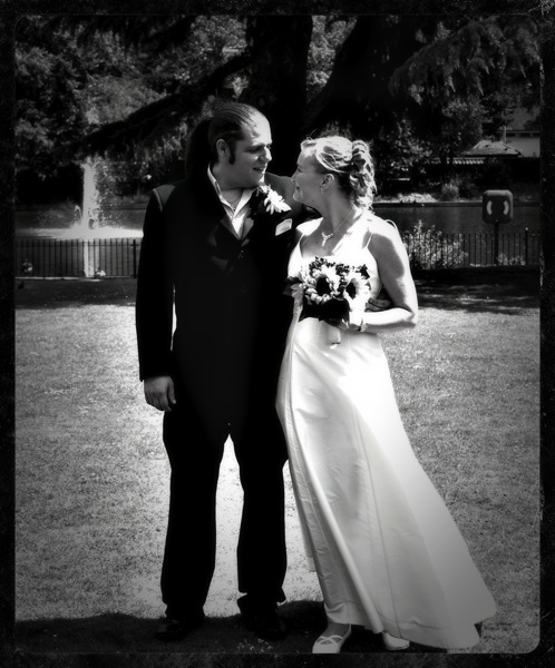 Steve  Sarah Wedding 1