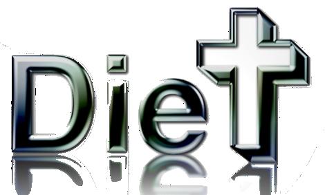 Diet or die Logo