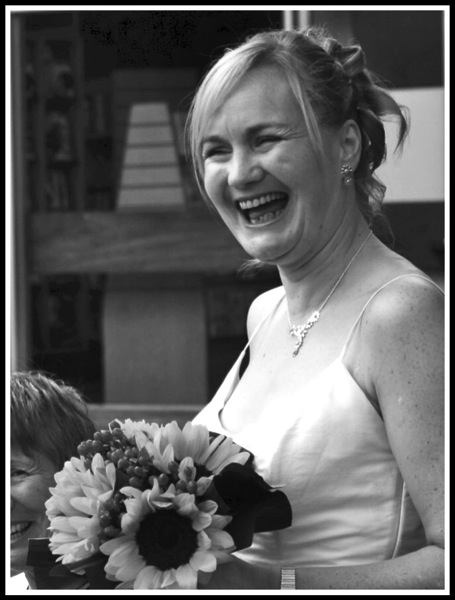 Sarah on Wedding Day PNG