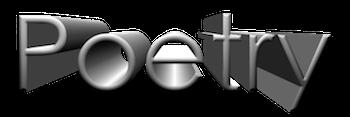 Poetry 3D Logo