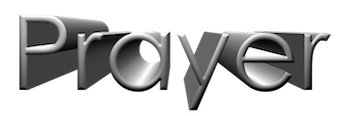 Prayer 3D Logo