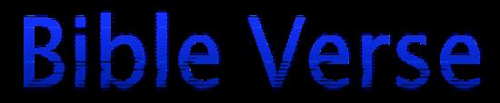 Bible Verse Logo