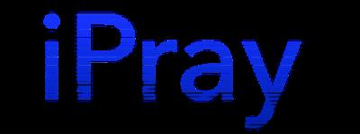 IPray Blue Shadow Logo