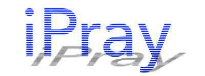 IPray Blue Shadow Logo