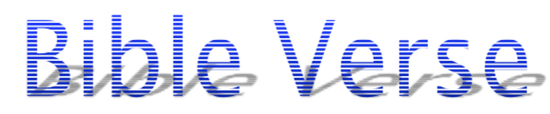 Click blue logo for more Bible verses
