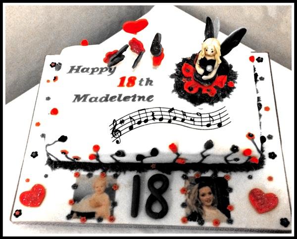 Maddies 18 cake