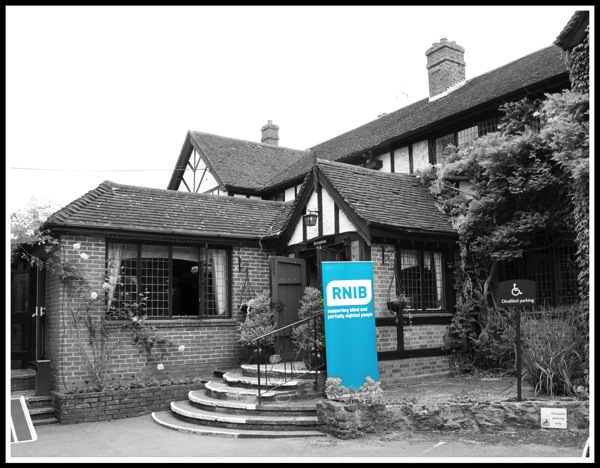 RNIB Horsham Reception