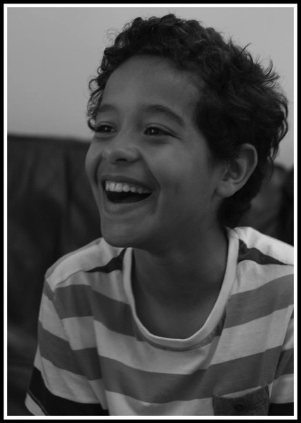 photo of Vini laughing!