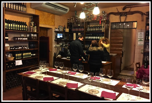 look inside the Chianti shop