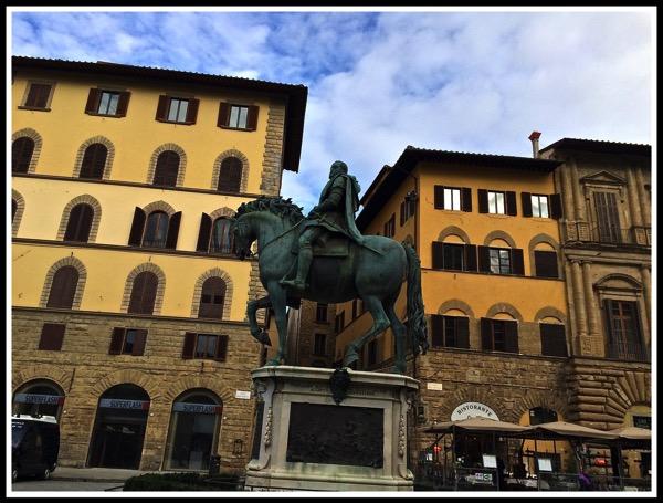 Bronze statue of Cosimo Medici