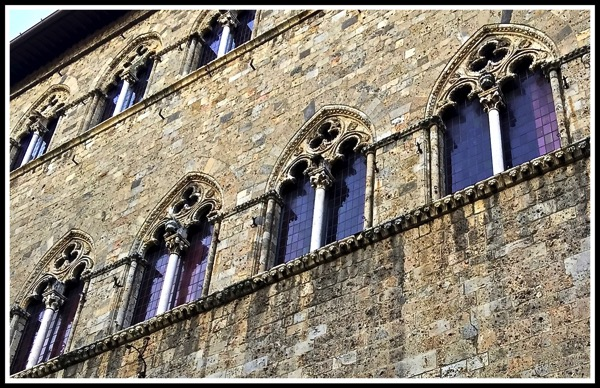 close up of windows on a Siena Building 2