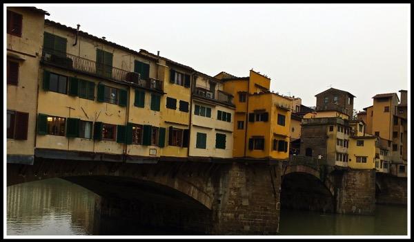 Bridge over river Arno