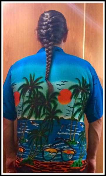 My Platt  Blue Caribbean Shirt