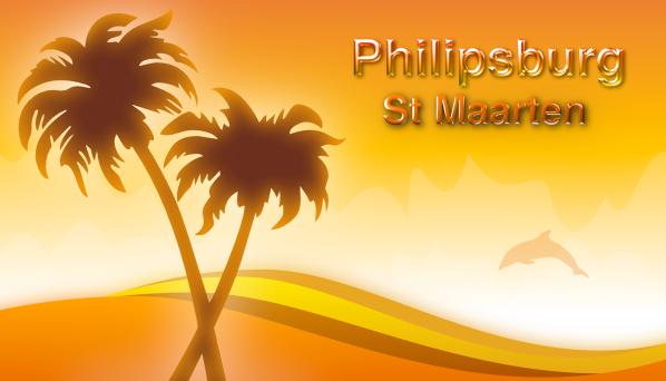 Philipsburg St Maarten Logo