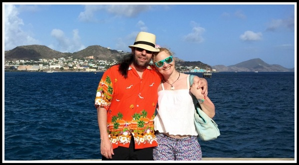 Sarah  i in Caribbean