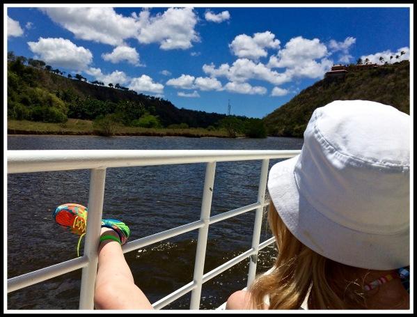 Sarah paddle boat