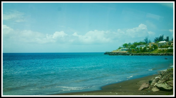 View from the bus at St Kitts