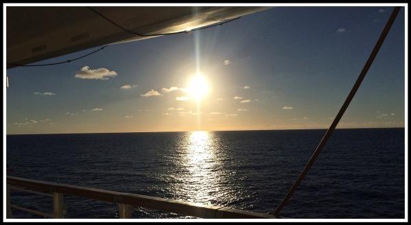 Ocean sunset 2,
