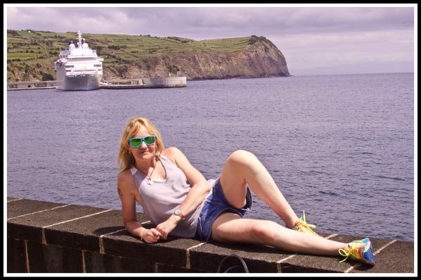 Sarah and the ship