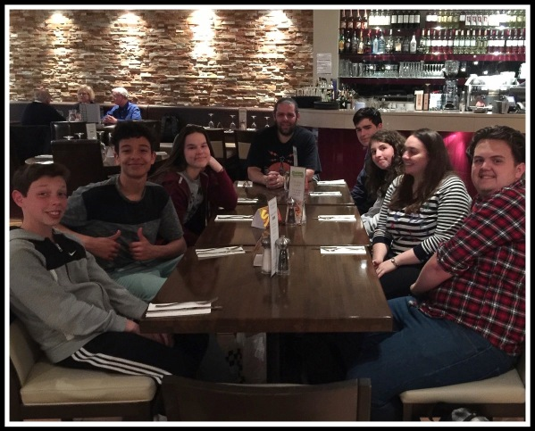 Church Youth Club  Prezzo Restaurant