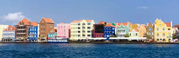 View of Curacao sock 1