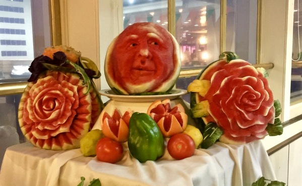 fantastic carved fruit