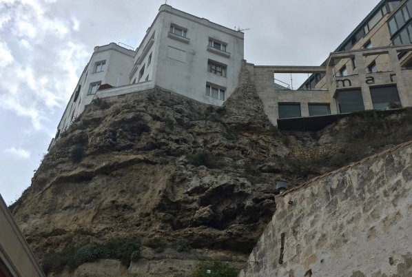 House on top of a cliff