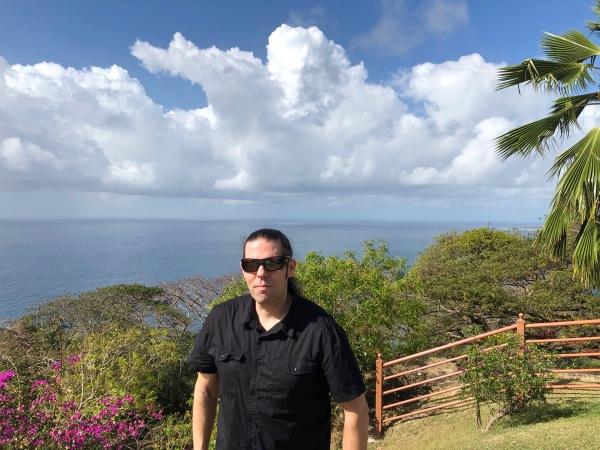 Me in Tobago