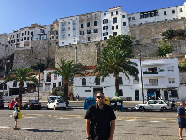 Me in Minorca
