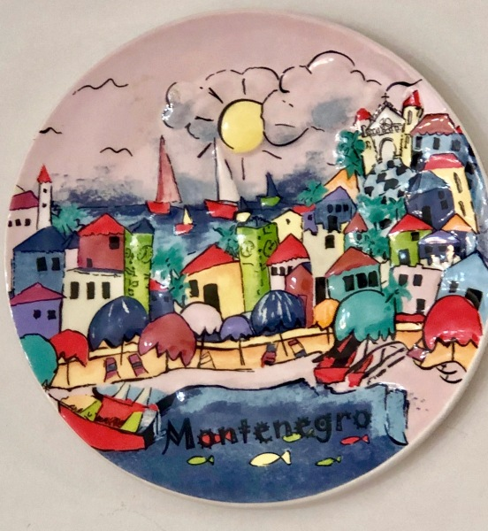 Montenegro plate