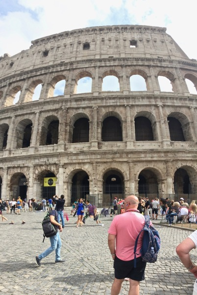 More Colosseum ruins
