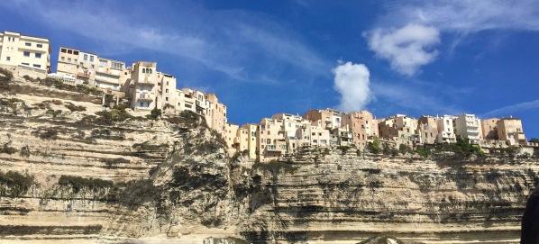 The fantastic cliffs of Corsica