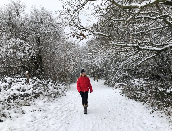 1 Sarah snow walk