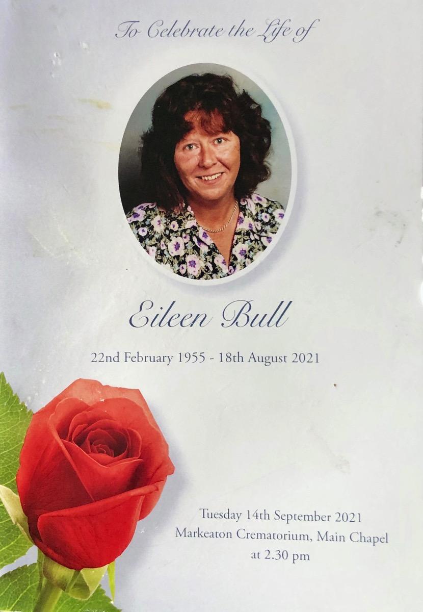 Eileen Funeral Service